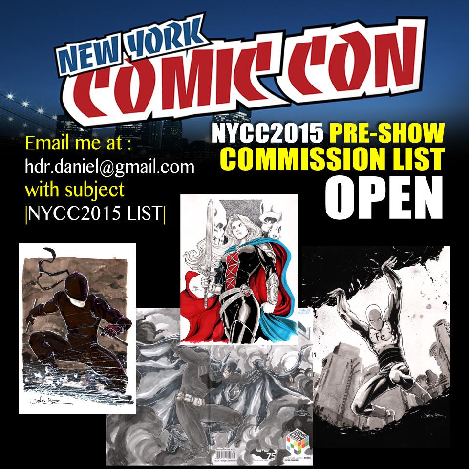 NYCC2015 preorder
